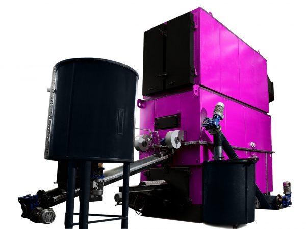 Kocioł na biomasę COMFORT CLASSIC-RS 300-3000