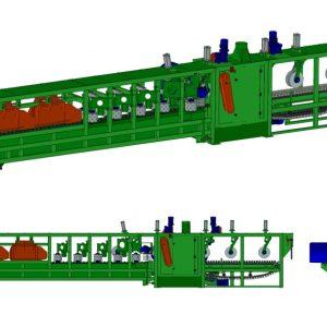 Trak tarczowy gąsienicowo-łańcuchowy Brodpol TT5 GL