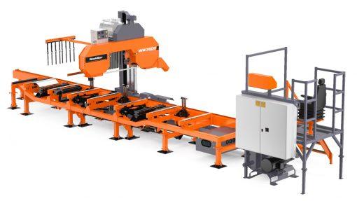 Wydajny trak do produkcji przemysłowej Wood-Mizer WM3500