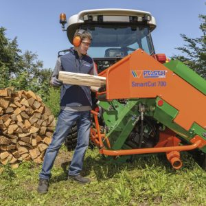 Automatyczna pilarka do drewna opałowego POSCH SmartCut 700