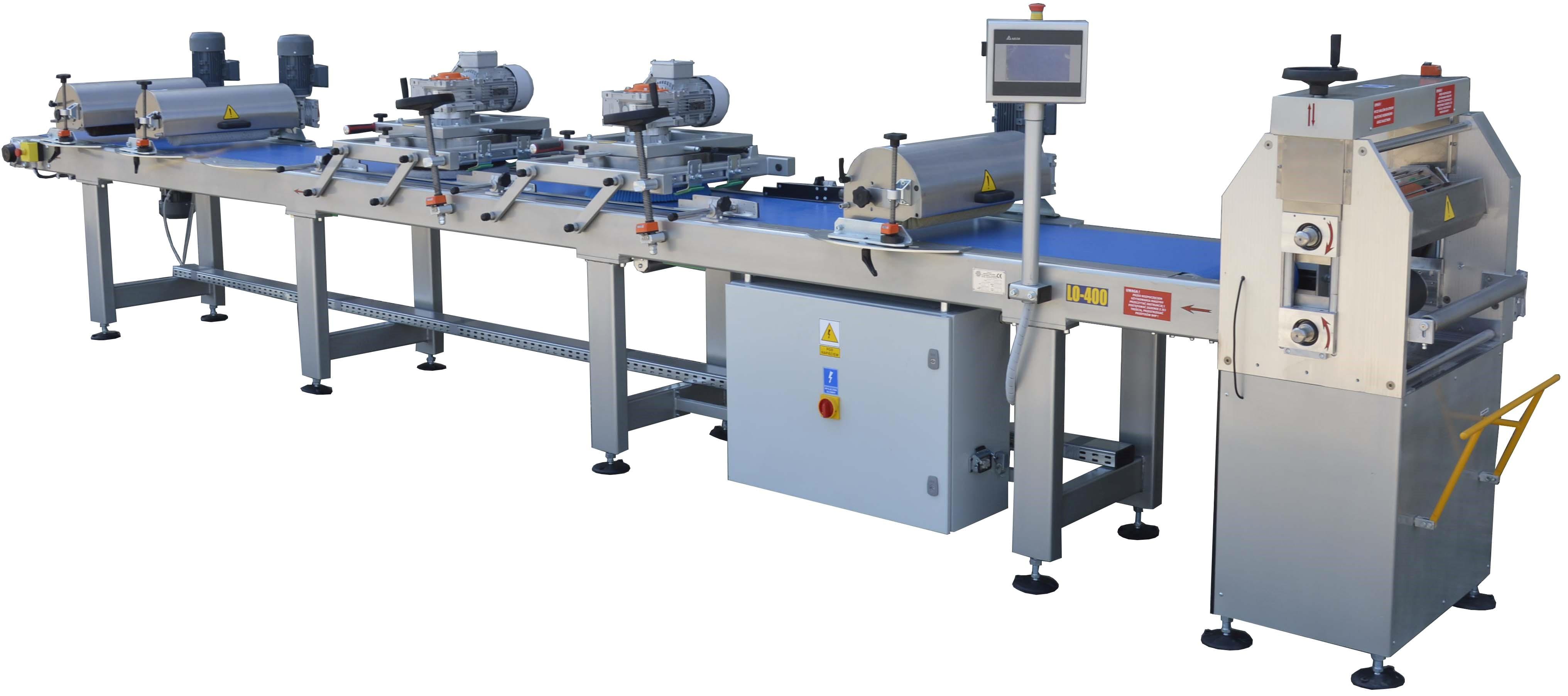 Linia do olejowania deski podłogowej Prochera LO-400