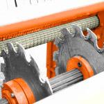 Uniwersalna obrzynarka przemysłowa Wood-Mizer EG400