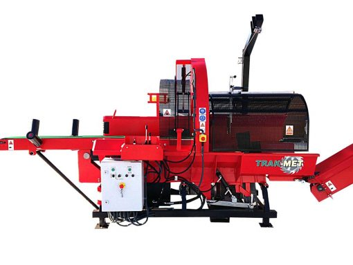 Piło-łuparka TRAK-MET PŁD- 450 automat 25 ton